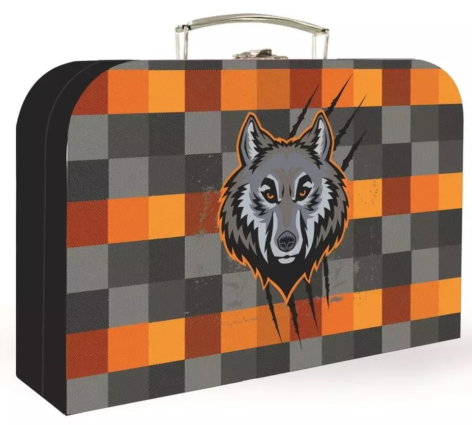 Kufrík vlk 34cm