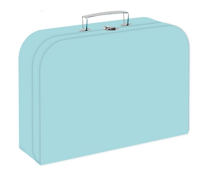 Kufrík zelený 34 cm