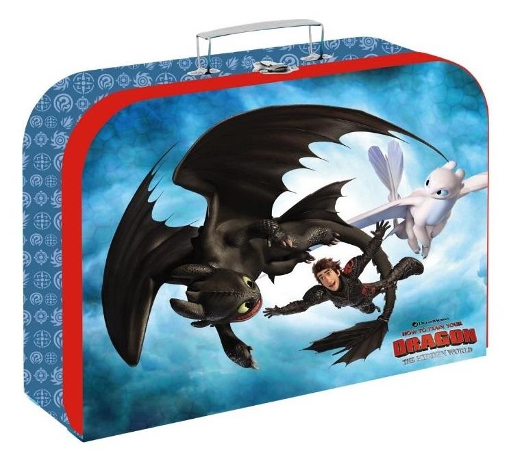 Kufrík Ako vycvičiť draka 34cm