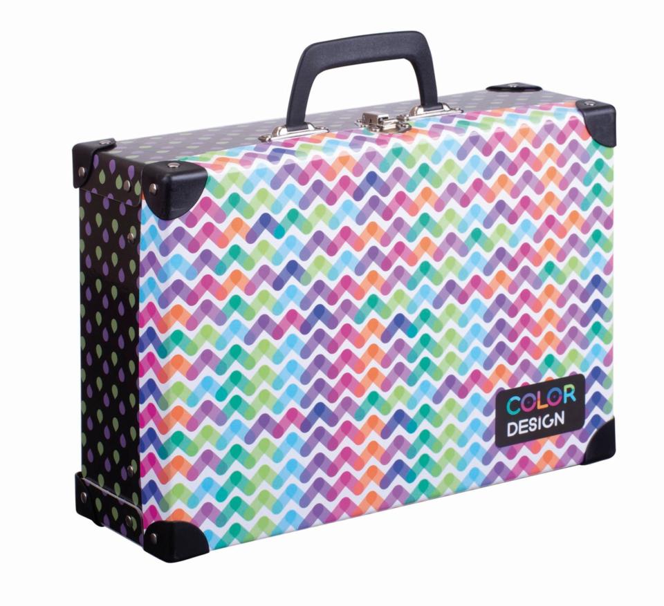 Kufrík WAVES farebný 40x35x11cm