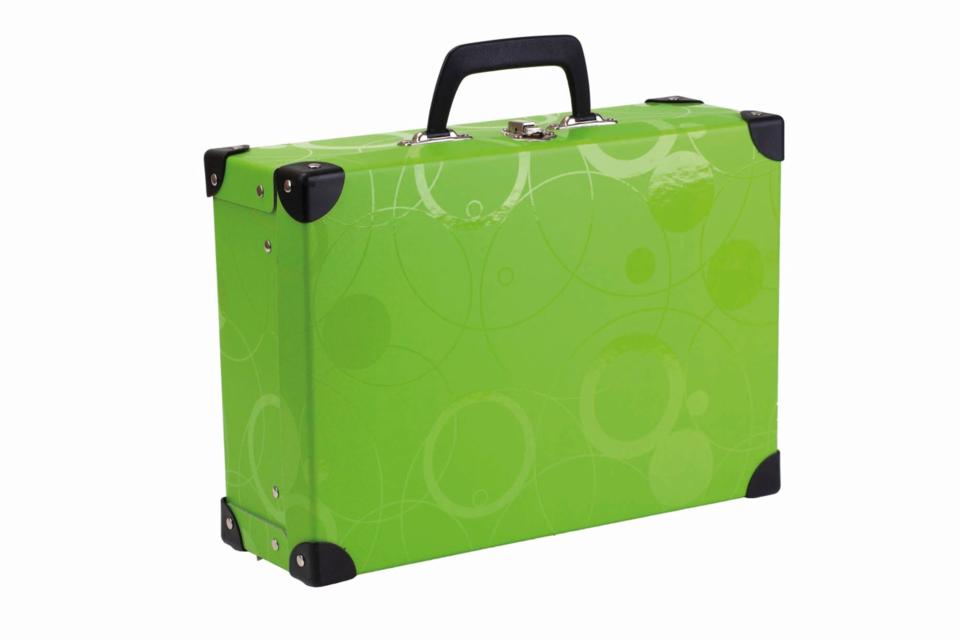 Kufrík zelený 40x35x11cm