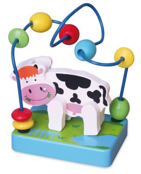 Viga Drevený labyrint kravička