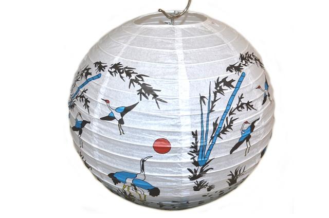 Lampión Guľa, čínsky motív