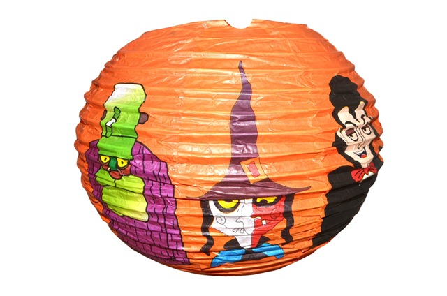 Lampion Halloween 25cm