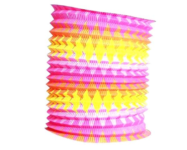 Lampion farebný 24cm