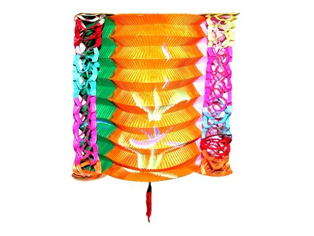 Lampion farebný 22cm
