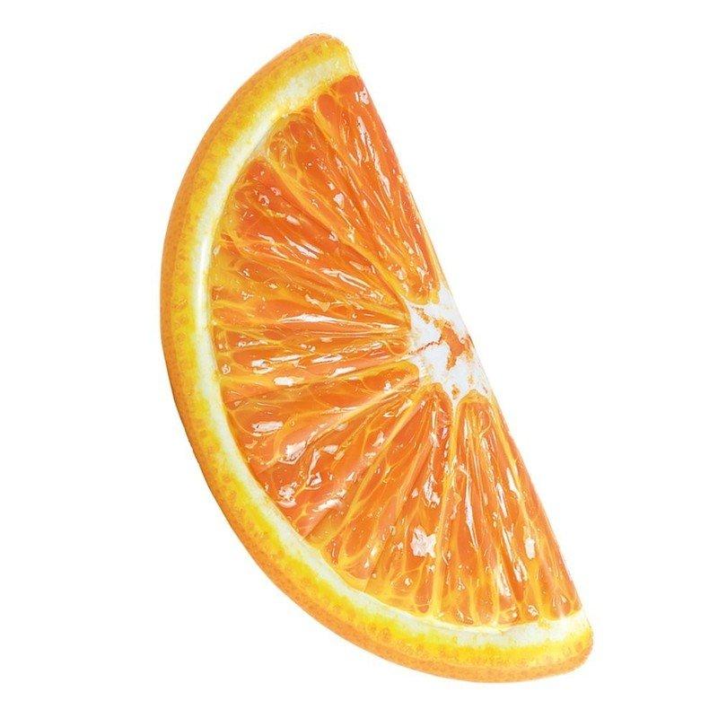 Intex 58763 Nafukovacie lehátko Plátok pomaranča 178x85cm