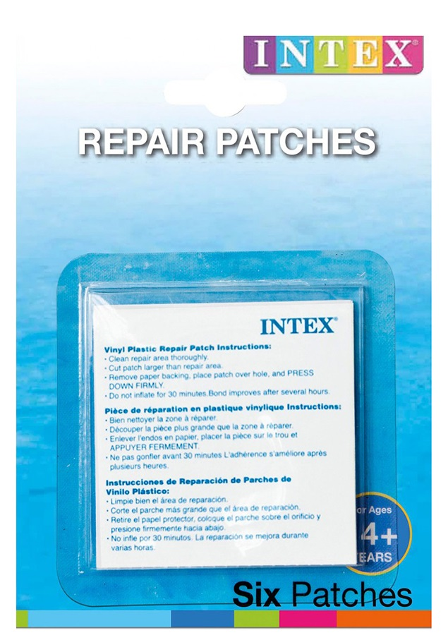 Intex 59631 Samolepiace záplaty Intex 6x6cm/6ks