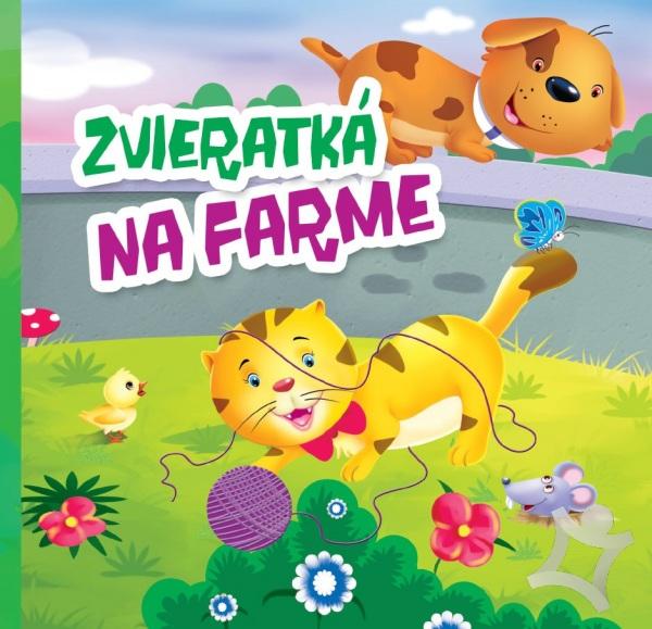 Zvieratká na farme leporelo