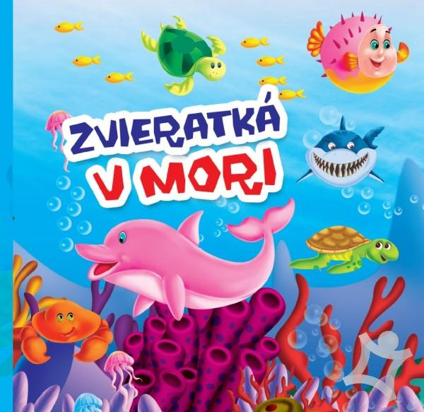 Zvieratká v mori leporelo