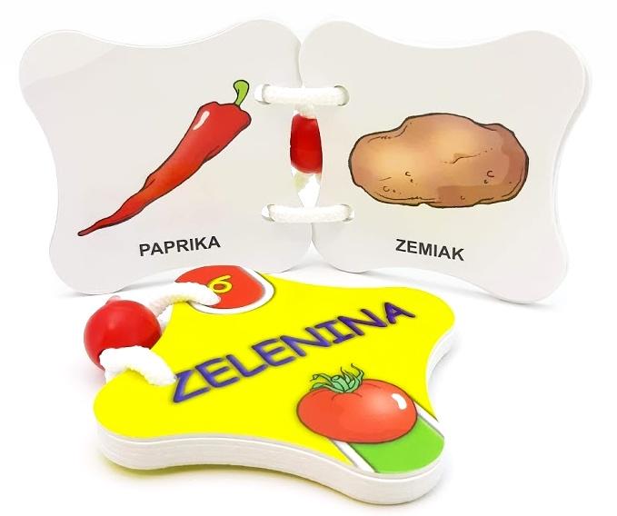 Leporelo 6. Zelenina Spoznávame svet