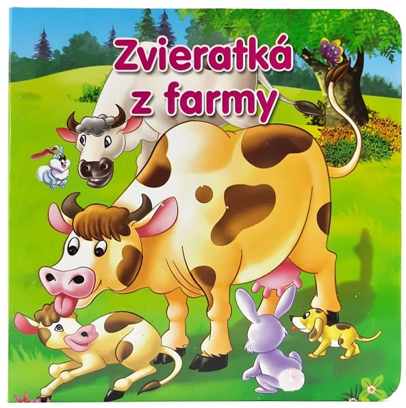 Knižka Zvieratká z farmy