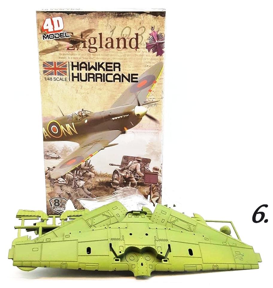 Lietadlo stavebnica 4D - 2