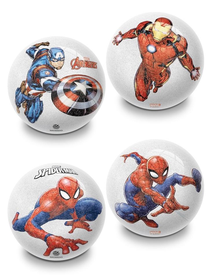 Penová lopta Marvel Avengers a Spiderman 10cm