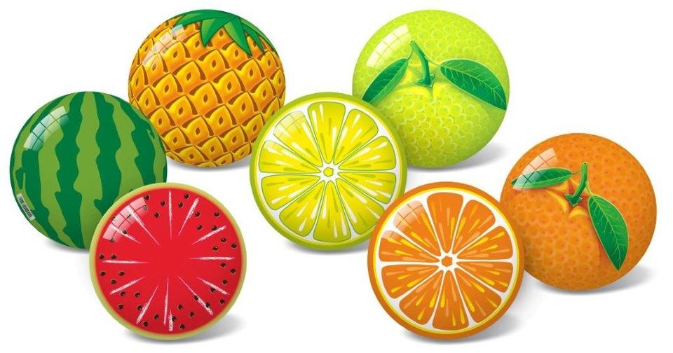 Lopta ovocie 11cm