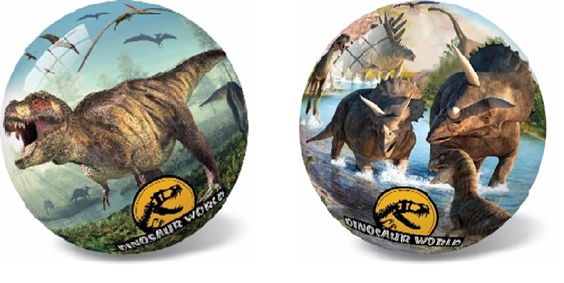 Lopta Dinosaurus 14cm