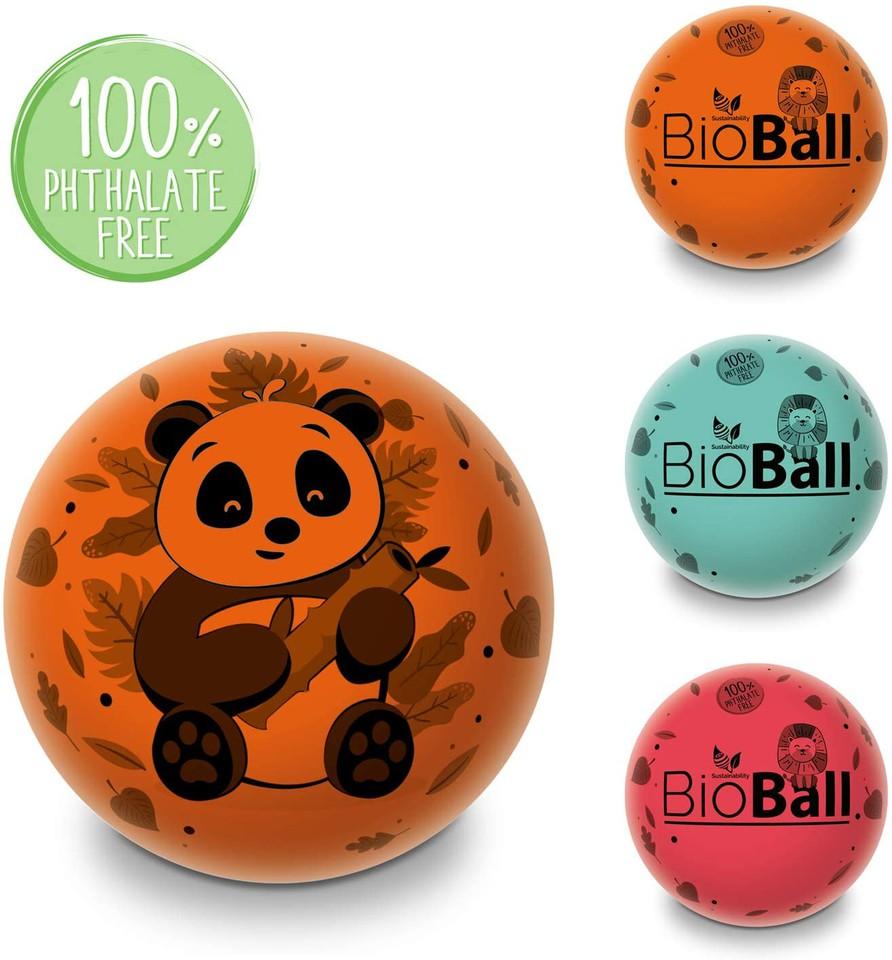 Mondo 26054 lopta Panda 3farby 23cm - červená