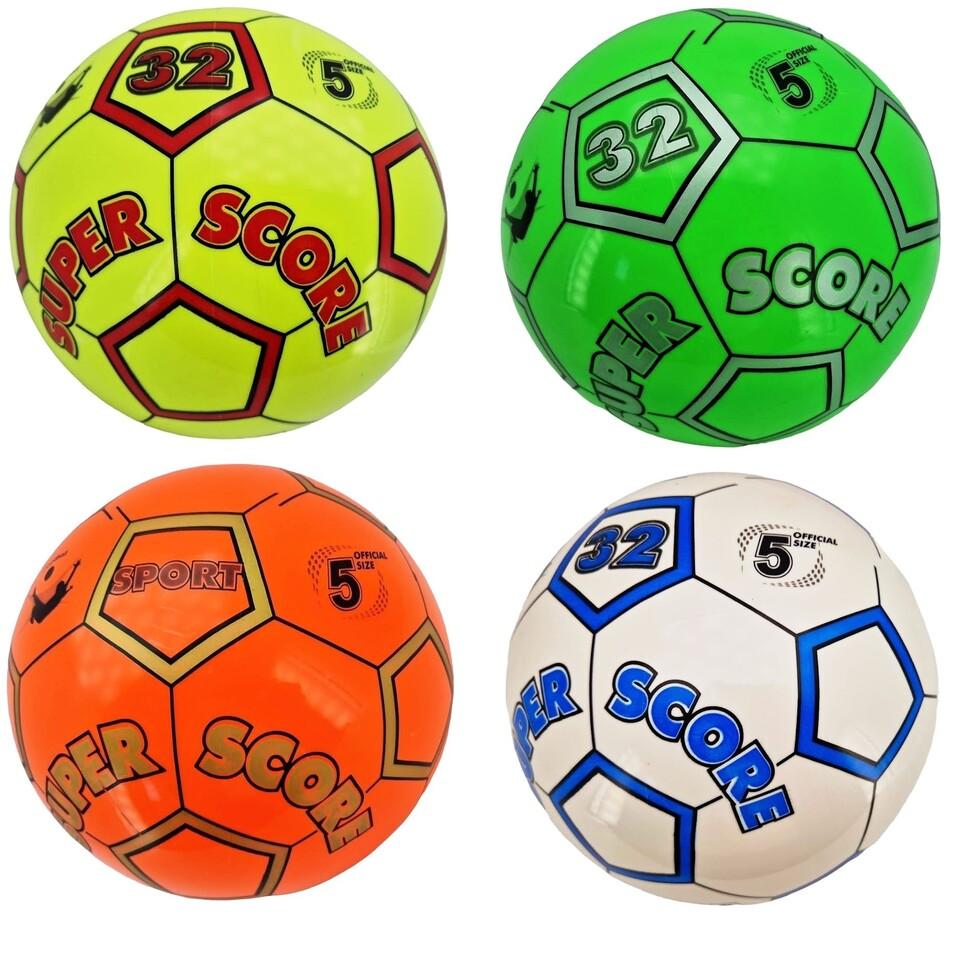 Lopta Futbal 21cm - červená