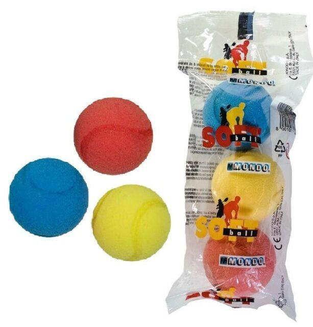 Soft ball penové loptičky 3ks