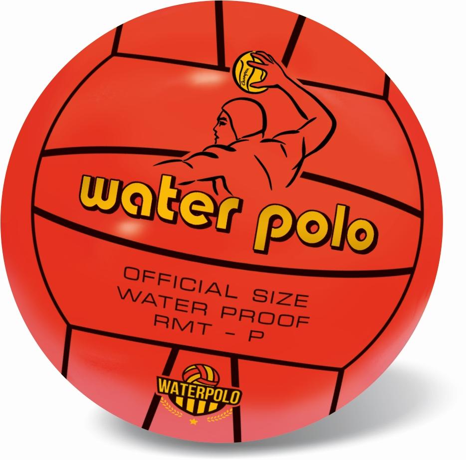 Lopta na vodné pólo 21cm - žltá