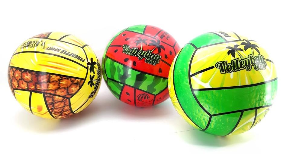 Lopta volejbalová 21cm ovocie - melón