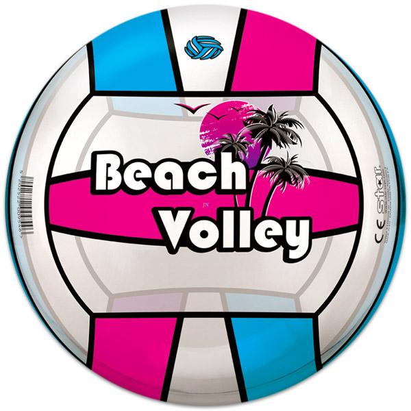 Lopta plážový volejbal 21cm