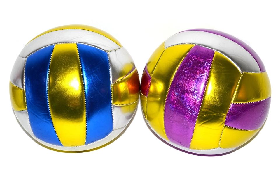 Lopta volejbalová 20 cm, 2 asst.