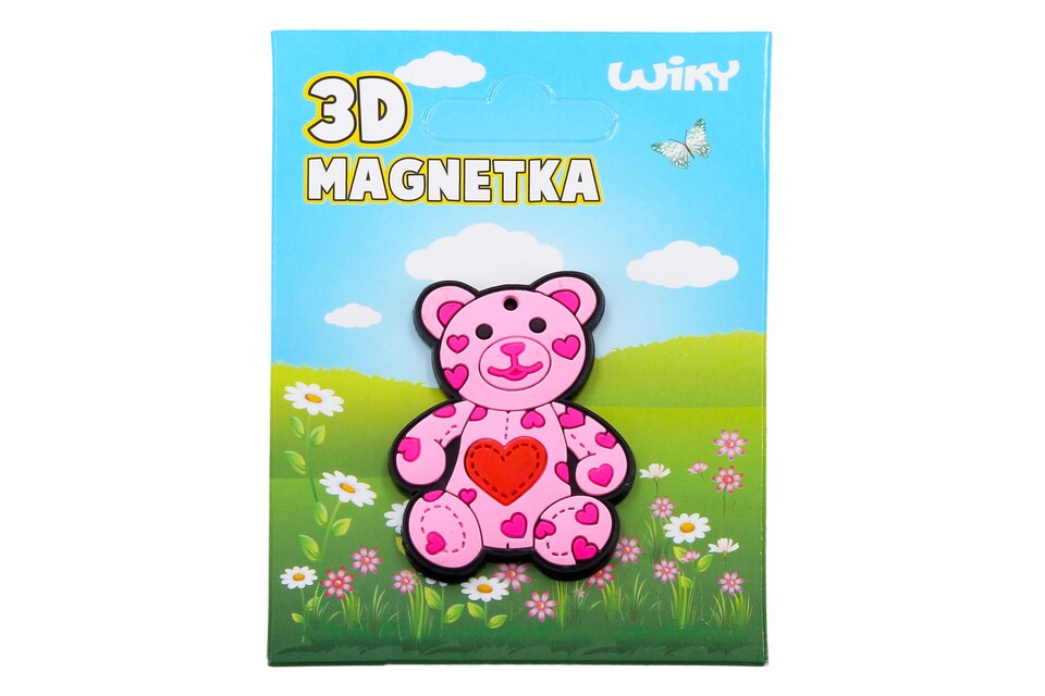 Magnetka 3D Medvedík