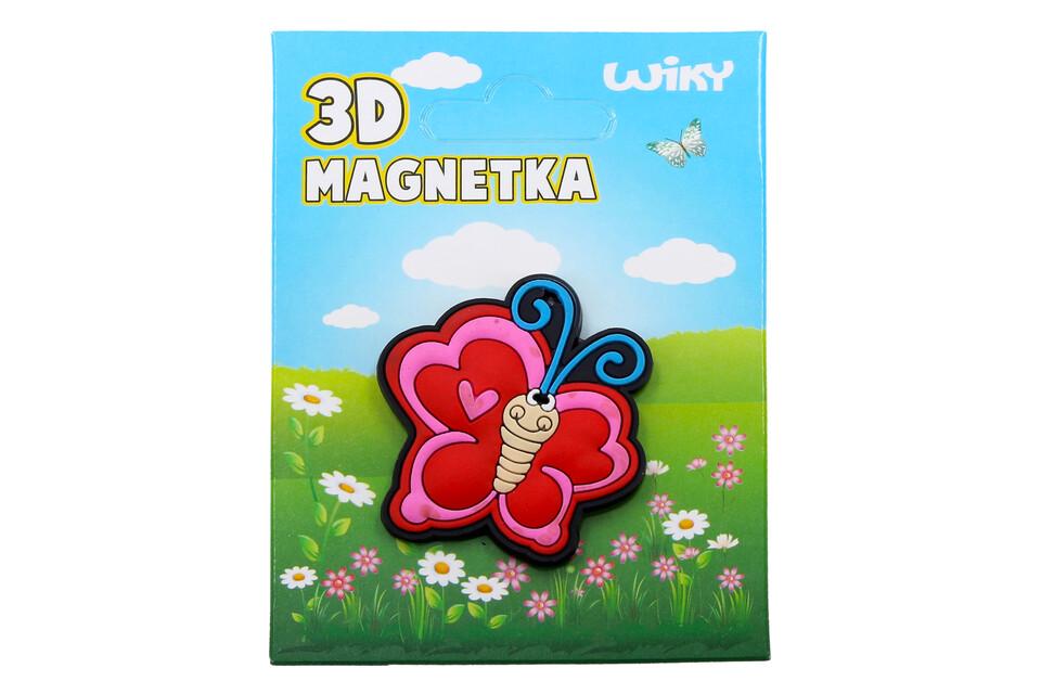 Magnetka 3D Motýľ