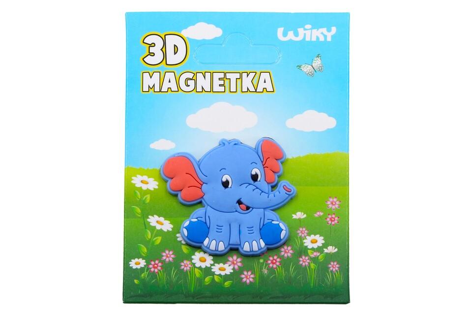 Magnetka 3D Slon