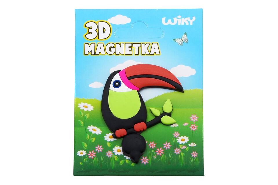 Magnetka 3D Tukan