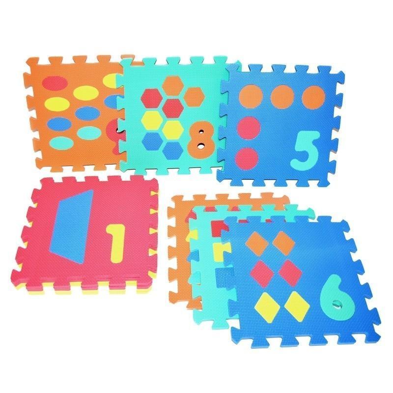 Mäkké puzzle bloky čísla 30cm