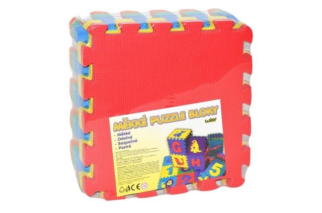 Mäkké puzzle bloky 30cm 10ks