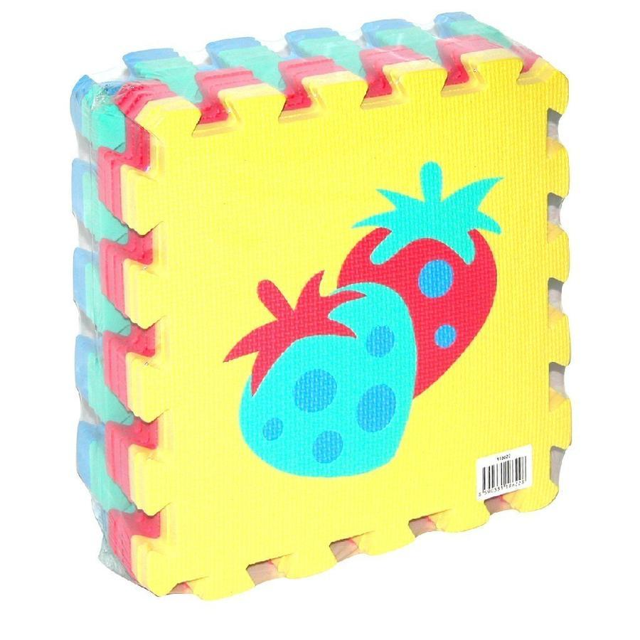 Mäkké puzzle bloky - ovocie 30 cm