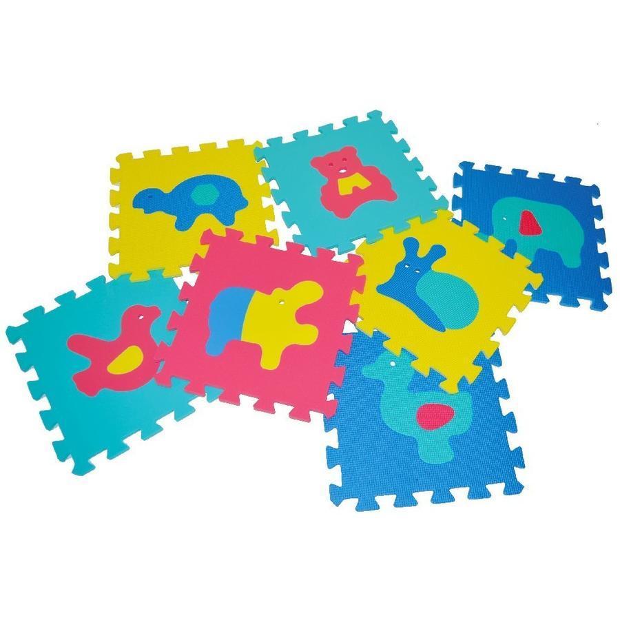 Mäkké puzzle zvieratká 30cm