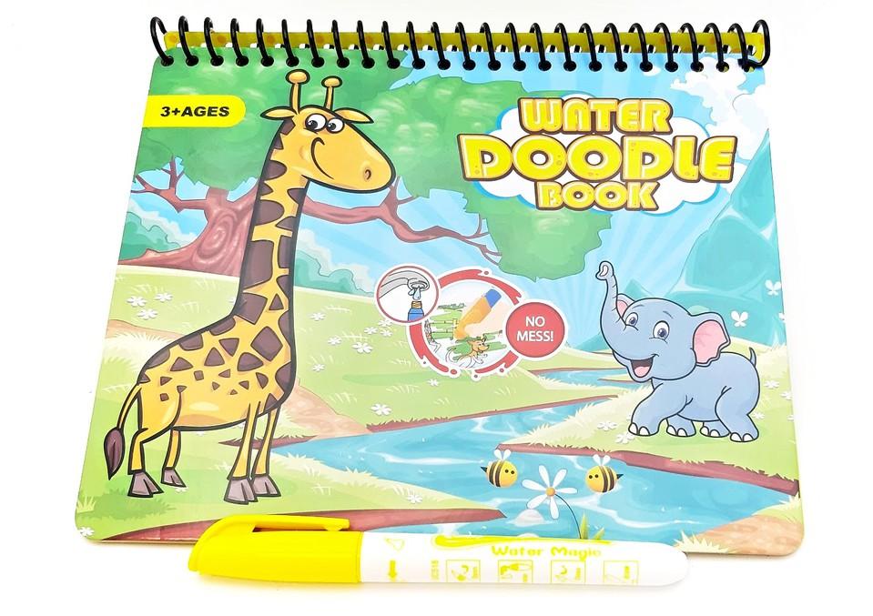 Vodné maľovanie Safari