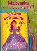 Maľovanky+aktivity Princezné