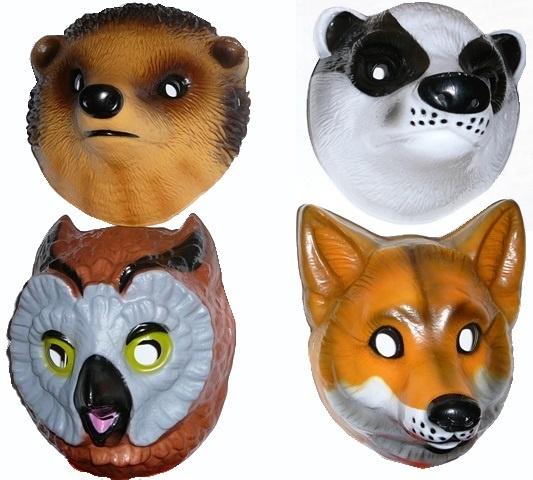Maska Lesné zvieratká