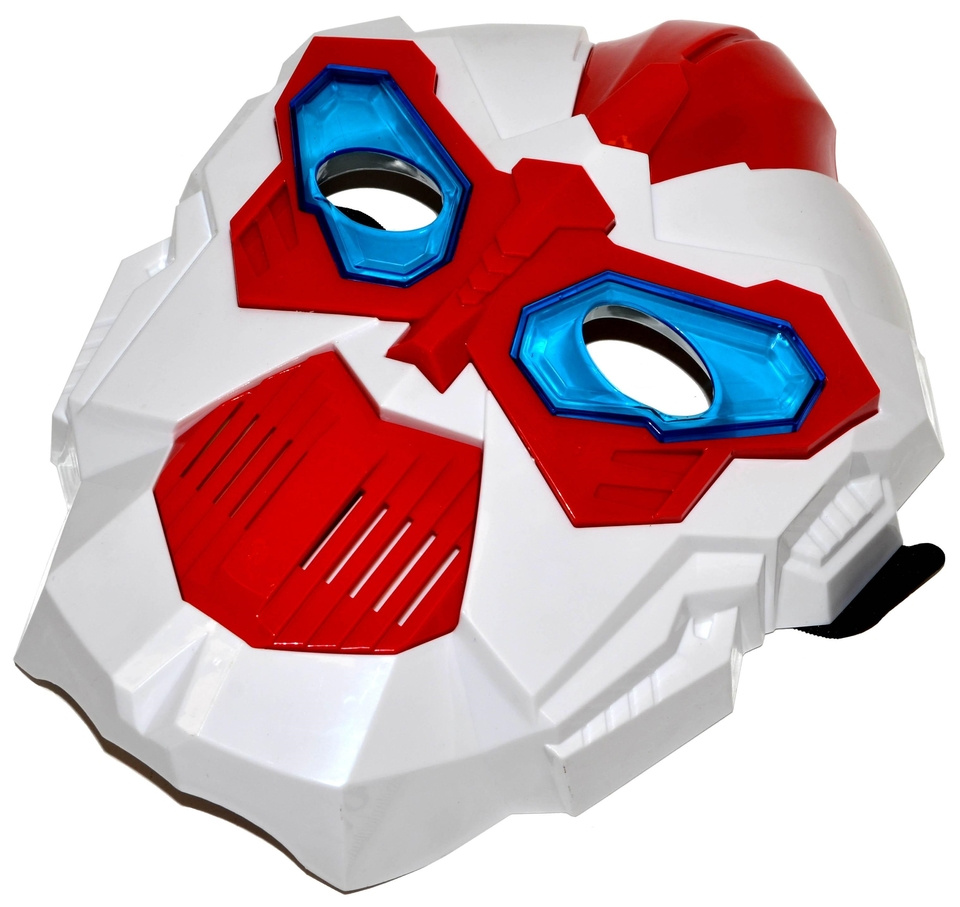 Maska vesmírna na batérie
