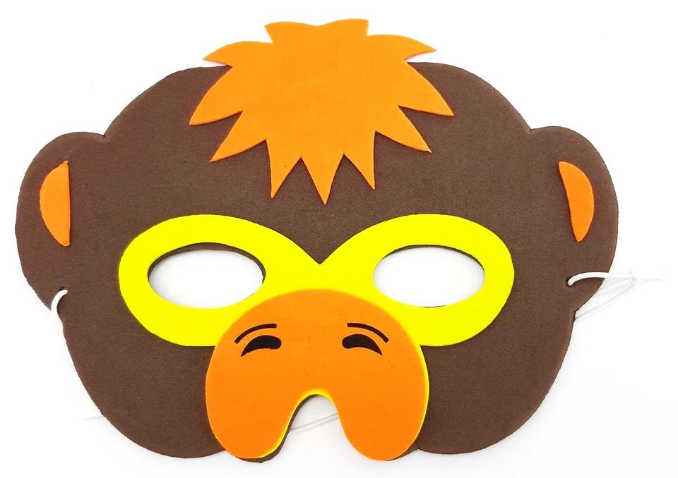 Maska zvieratá Safari