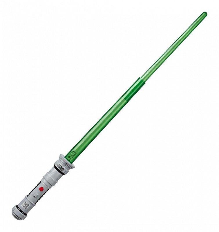 Hasbro Svetelný meč zelený Star Wars Apprentice