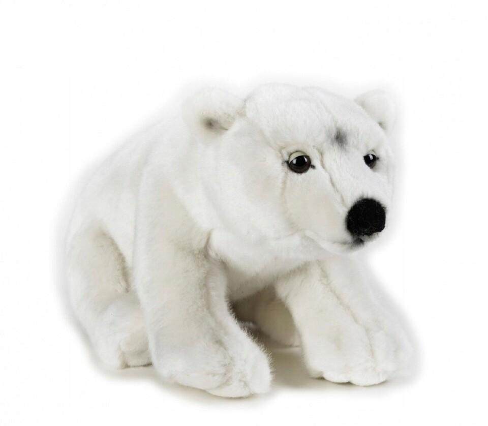 Plyšový Ľadový medveď 25cm National Geographic
