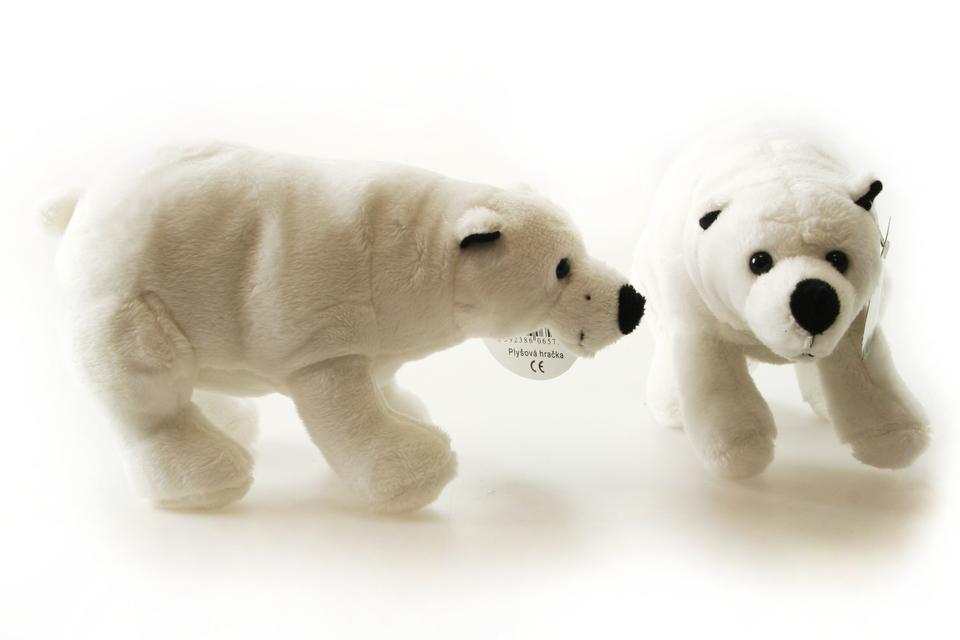 Medveď polárny plyšový 20 cm