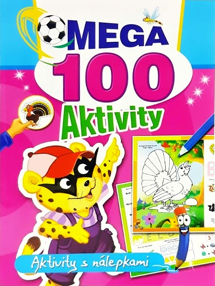 Mega 100 aktivity s nálepkami