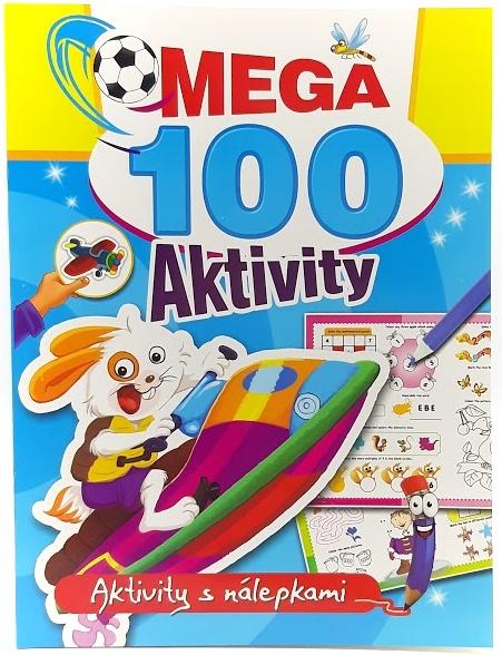 Pracovný zošit Mega 100 aktivity s nálepkami