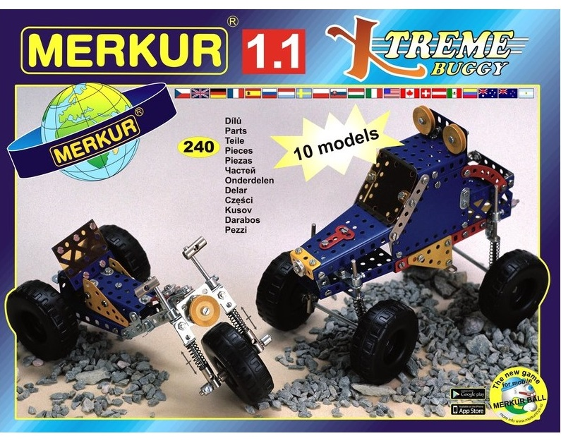 Stavebnica Merkur 1.1 Xtreme buggy