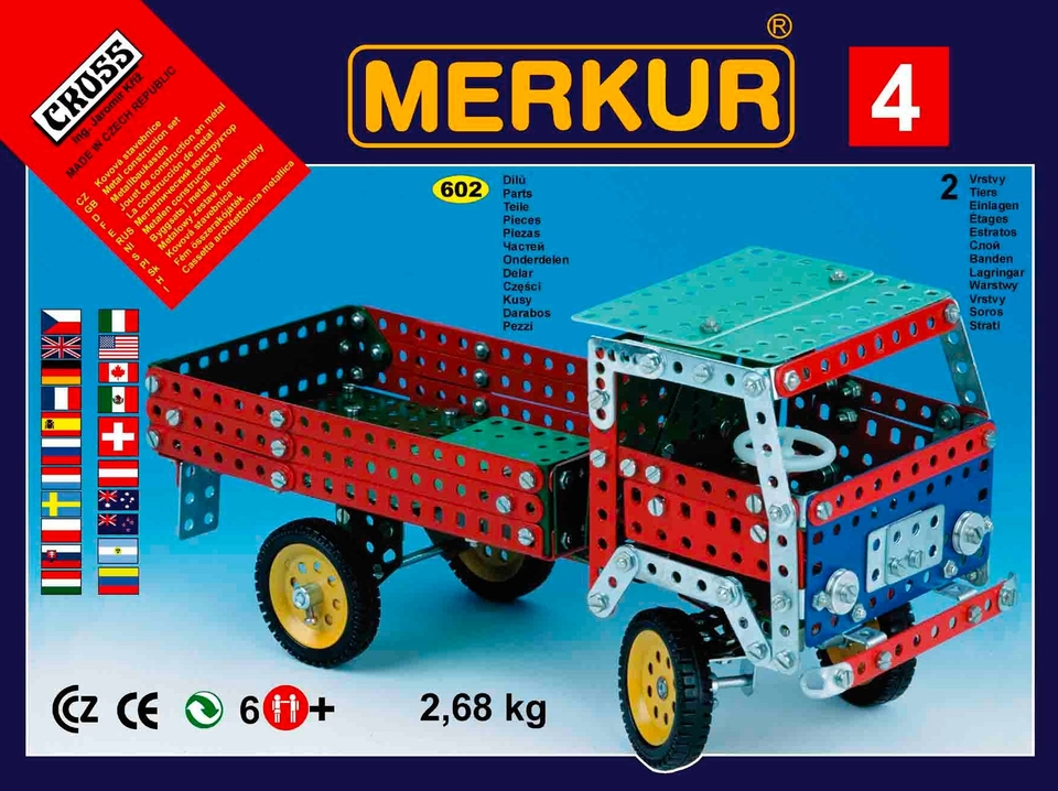 Stavebnica Merkur M 4