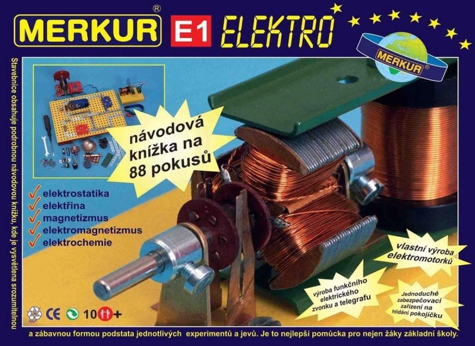 Merkur E1 Elektro - elektrina a magnetizmus