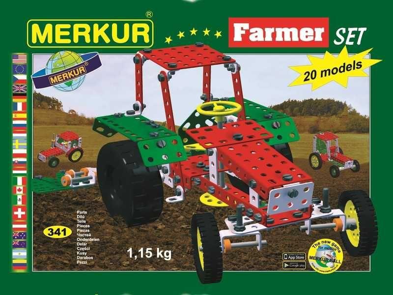 Stavebnica Merkur Farmer set