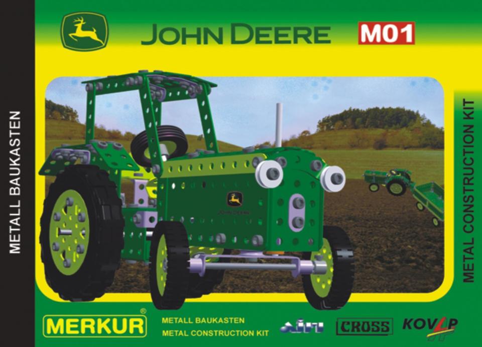 Stavebnica Merkur John Deere M01